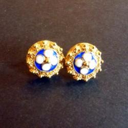 produit-portugais-boucles-d-oreilles-fleur-en-argent-et-email-bleu-dorees_488