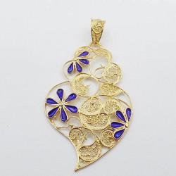 produit-portugais-pendentif-coeur-fleurs-me0764-en-argent-dore_699