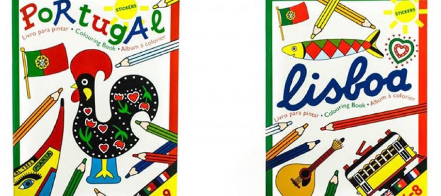 livre a colorié portugal