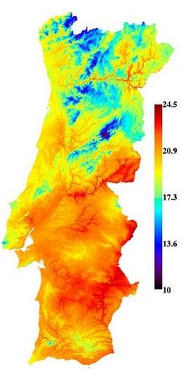 Produit Portugais Carte Portugal Le Climat Du Portugal